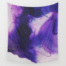 Violet Aura Wall Tapestry