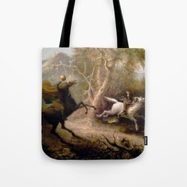 Vintage Art of Sleepy Hollow  Tote Bag