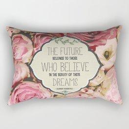 The Future of Peonies Rectangular Pillow