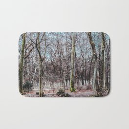 Red leaves and freckles. Can I call you redheads, dear trees? Bath Mat
