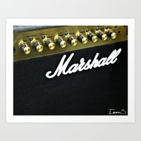 Make it louder ! Art Print