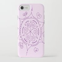 henna iPhone & iPod Cases featuring Henna by Melissa Wildt