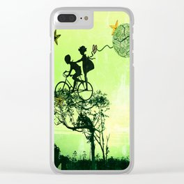 Childhood Clear iPhone Case