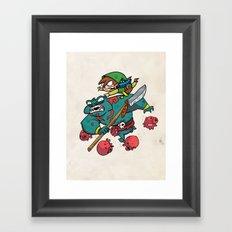 Link's Lament Framed Art Print