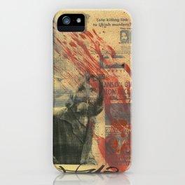 Manson iPhone Case