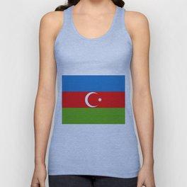 Azerbaijan flag Unisex Tank Top