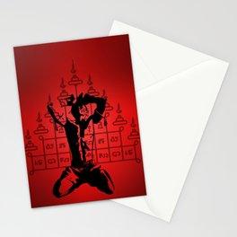 Warrior Spirit Stationery Cards