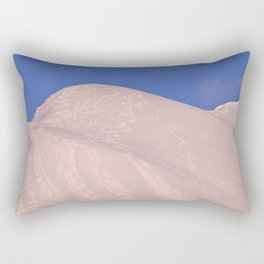 Back-Country Skiing - 7 Rectangular Pillow