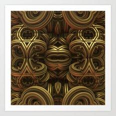 Golden One Art Print