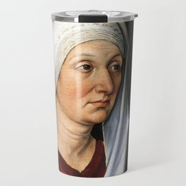 Portrait of Barbara by Albrecht Dürer Travel Mug