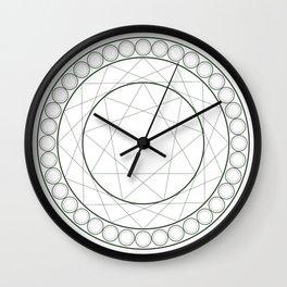 Anime Magic Circle 12 Wall Clock