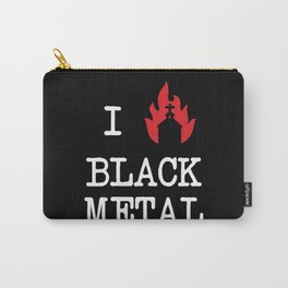 I Love Black Metal Carry-All Pouch
