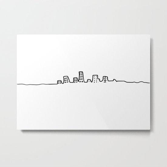 city line Metal Print