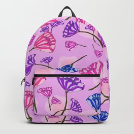 Diamond Florals Backpack