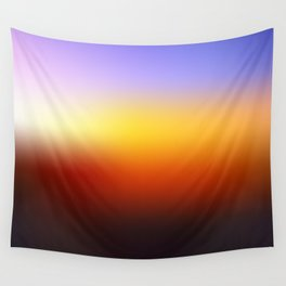 Sunset Gradient 7 Wall Tapestry