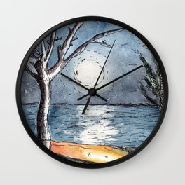 Moonlight in Mozambique Wall Clock