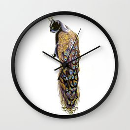 Goddess of Many Eyes 3 Wall Clock