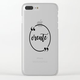 Create Clear iPhone Case