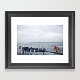 ferries Framed Art Print