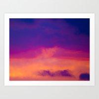 Cloudscapes IV Art Print