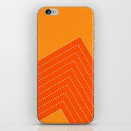 Orange Crush Range iPhone Skin