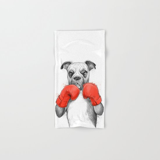 boxer Hand & Bath Towel