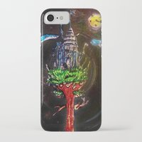 castle in the sky iPhone & iPod Cases featuring Castle in the Sky by Sarah Maurer