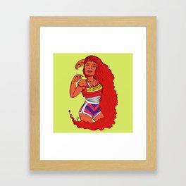 kori Framed Art Print