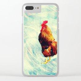 Les aventures du coq [2] Clear iPhone Case