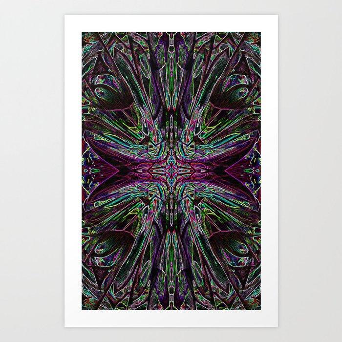 Lucid Dreams - Purpel Haze Art Print