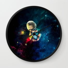 Baby Astronaut Wall Clock