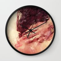 murakami Wall Clocks featuring What is Emptiness by Maria Amore