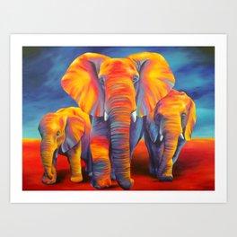 Majestic Three Art Print