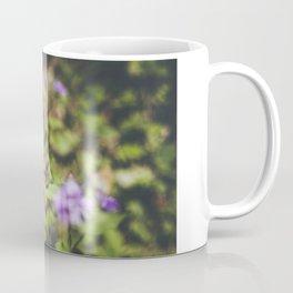 Butterfly on the wild flowers Coffee Mug