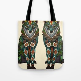 wolf ivory Tote Bag