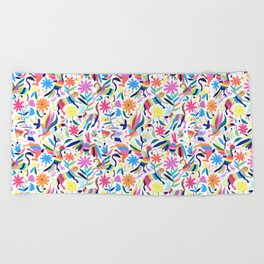 Creatures Otomi Beach Towel