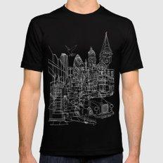 London! Dark T-shirt version Mens Fitted Tee SMALL Black