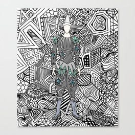 Heroes Fashion 5 Canvas Print