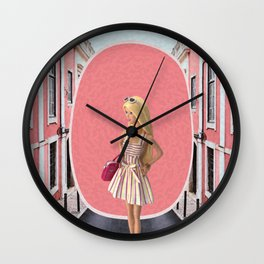 Barbie girl Wall Clock