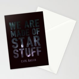 We Are Made of Star Stuff Stationery Cards