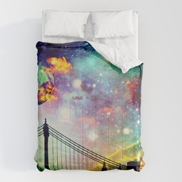 Galaxy Bridge Comforters