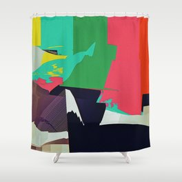 JPEGJPEGJPEGJ Shower Curtain