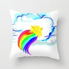 Sleeping Sun Throw Pillow