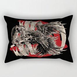 THE CROW VS. THE RAT Rectangular Pillow