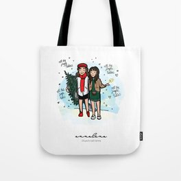 All The Jingle Ladies Tote Bag