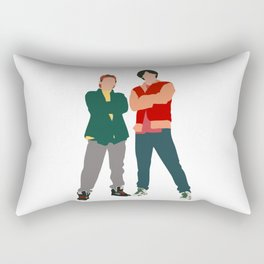 Bill and Ted movie Rectangular Pillow