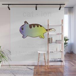 Biology Anime Cat Ion Kitty Kitten Chemistry Gift Wall Mural