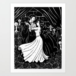 Dancing With Erik Art Print