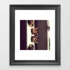 Rings on the Sill Framed Art Print