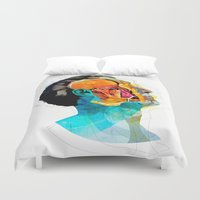 ford Duvet Covers featuring Anatomy [Ellis+Ford] by Alvaro Tapia Hidalgo